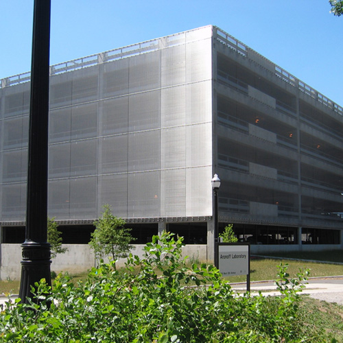 "Photography of project ""Ohio State University – Parking Garage"""