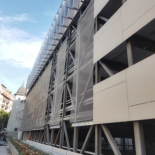 "Photography of project ""Parking Garage Obilicev Venac"""