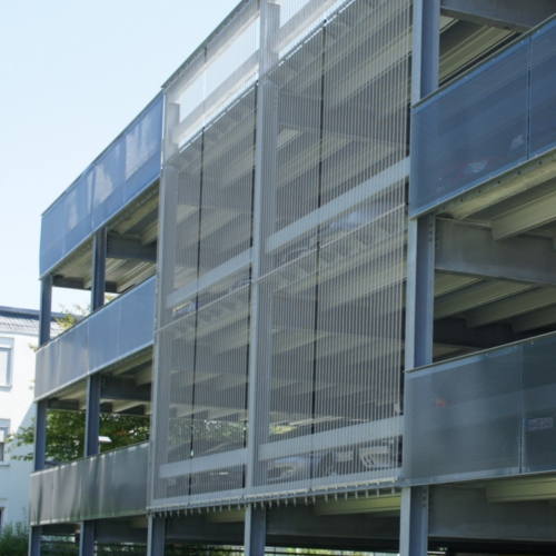 "Photography of project ""Parking at Stauferklinikum, Mutlangen"""