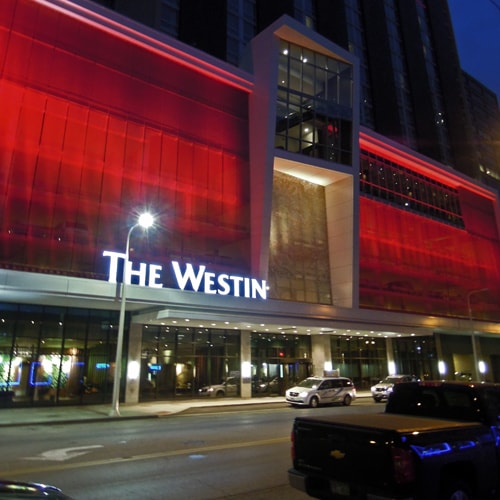 "Photography of project ""Westin Hotel Cleveland"""